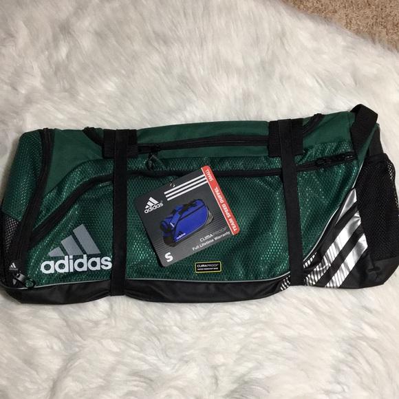1431d5eb99 Adidas Team Speed Duffel Bag Green New Soccer Bag